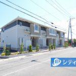グランデールⅢ 202/吉野ヶ里町立野 新築アパート/エアコン2基付き!