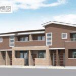 ヴィオラガーデン 202/みやき町中津隈 新築アパート/エアコン2基付き!