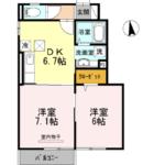 ヴィラ ウィステリア 神埼B102/神埼市神埼町 賃貸アパート/ネット無料!